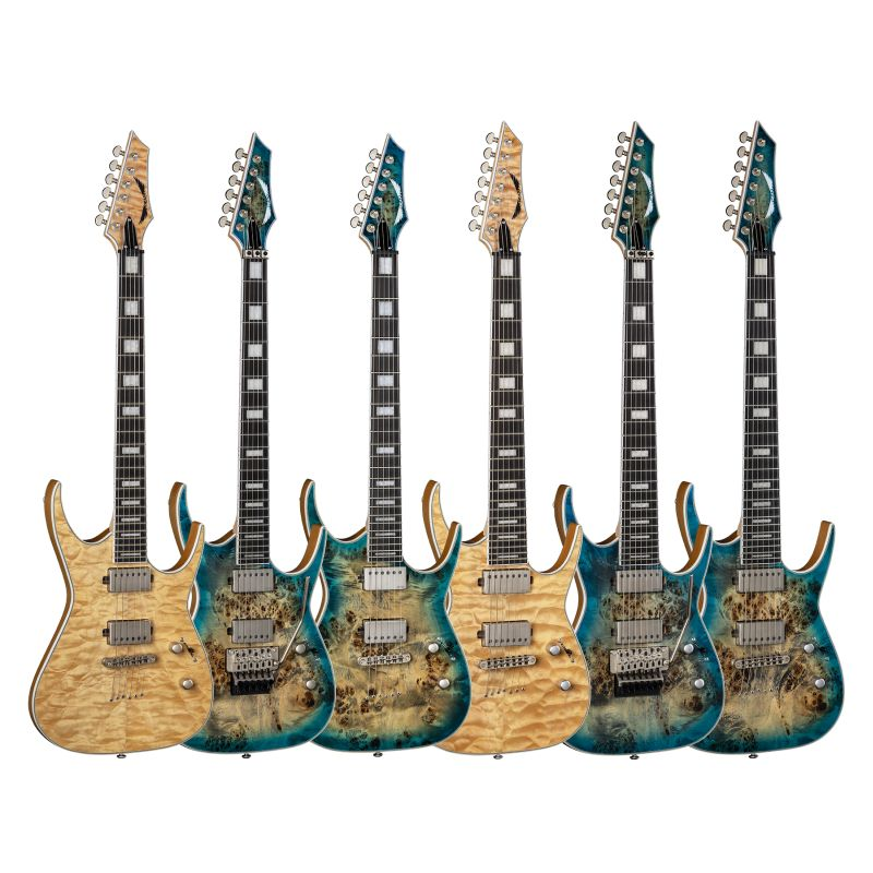 wyman metts: Dean Guitars session with WAKO