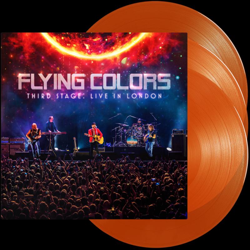 Third Stage: Live In London Orange Vinyl