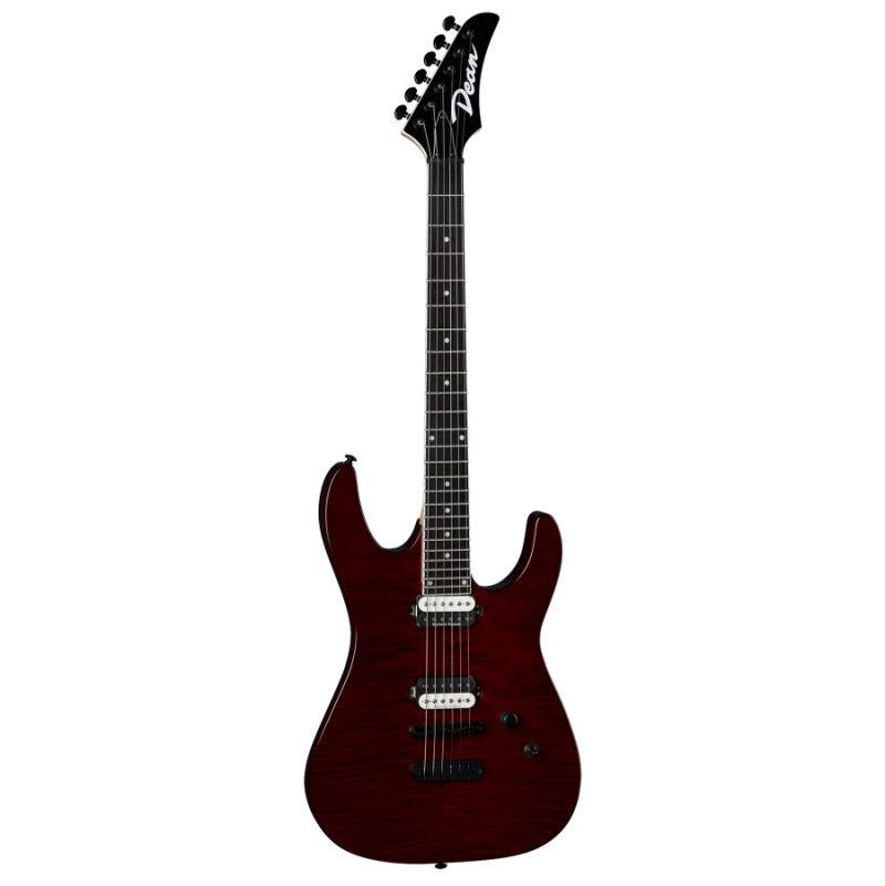 Dean MD 24 Select - Flame Top Trans Cherry