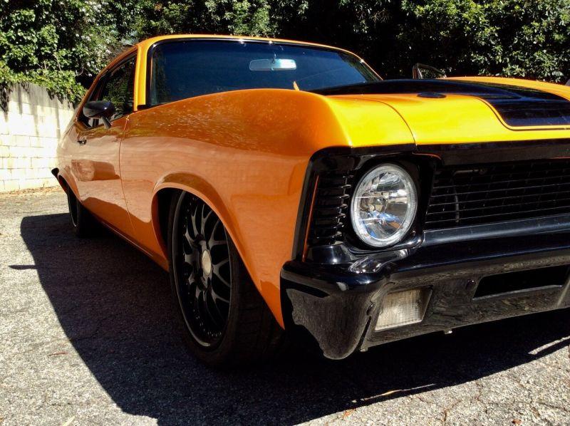 Eddie Van Halen's 1970 Chevrolet Nova Custom
