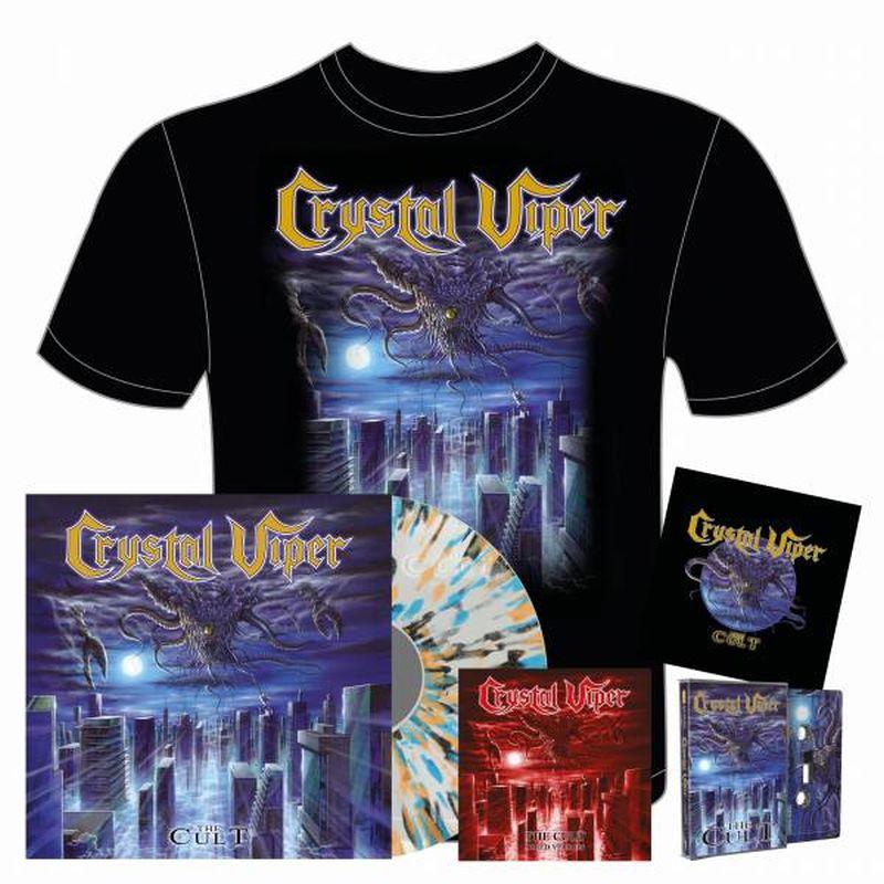 The Cult Exclusive Ultra Transparent with Splatter vinyl Bundle