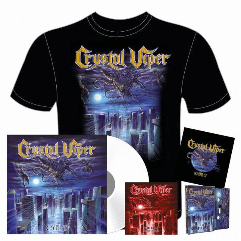 The Cult Exclusive WHITE vinyl Bundle