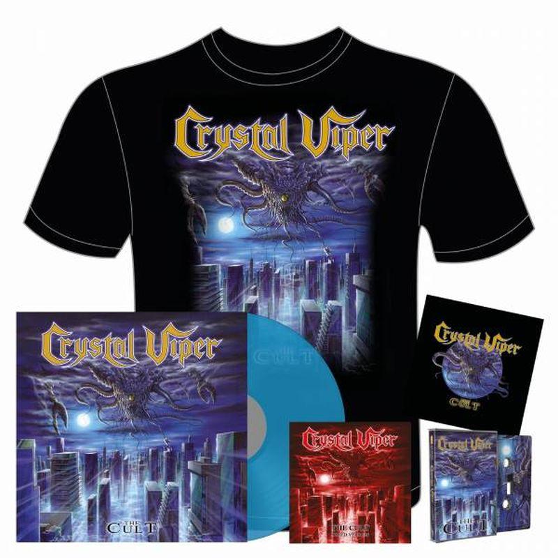 The Cult Exclusive Transparent blue vinyl Bundle
