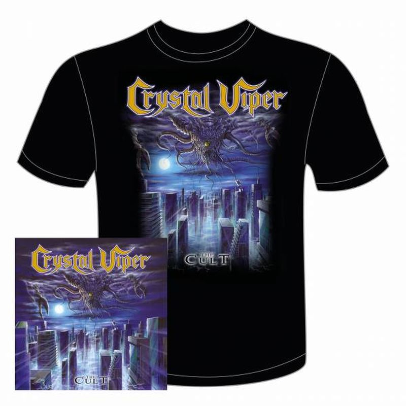 The Cult Limited Edition O card CD and T shirt bundle